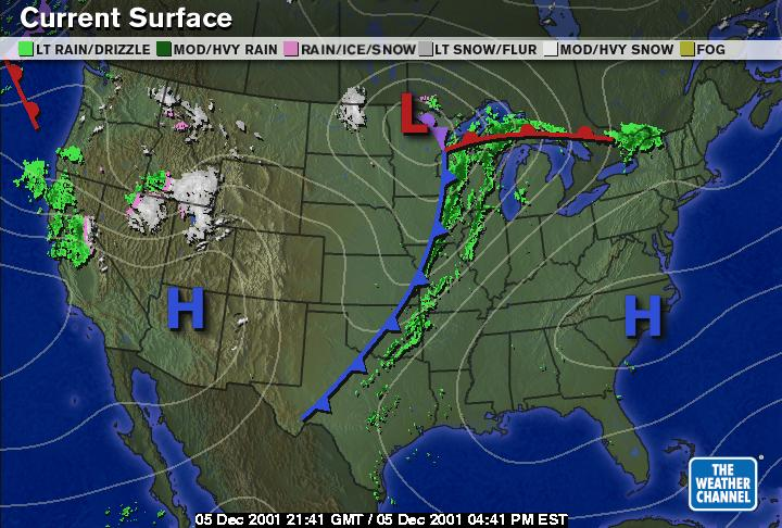 U S Weather Map